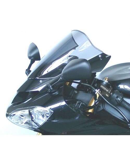 "MRA stikls KAWASAKI ZX 10 R 2004 2005 1000 Smoke Grey ""R"""