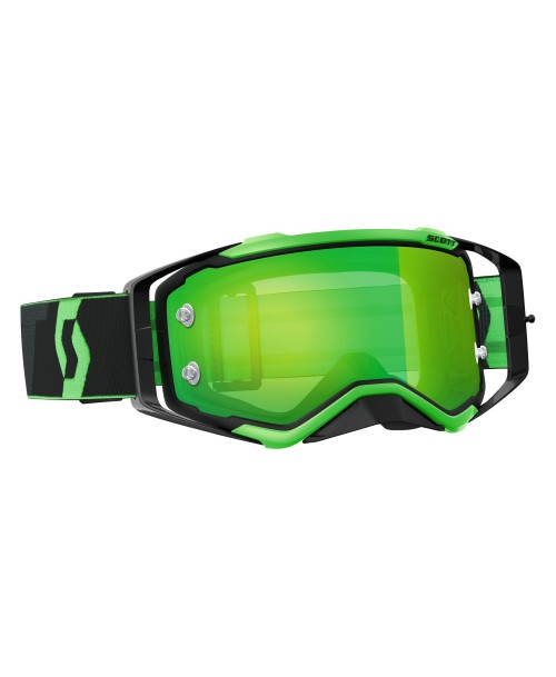 Scott Goggle Prospect Black/Fluo Green / Green Chrome Works '17