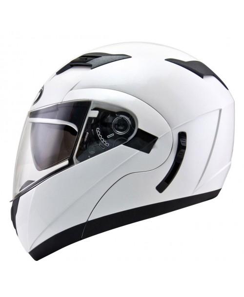 KYT Helmet CONVAIR Plain Pearl White